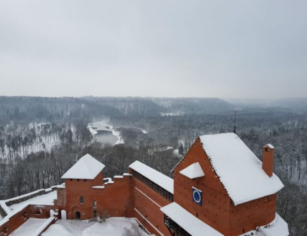 Gauja National Park in Winter _ Escaperies _ i-Da Adventures