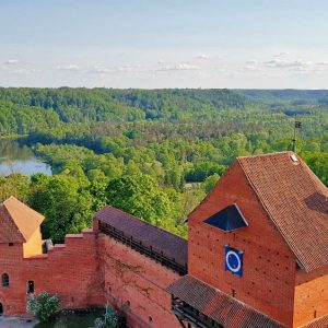 Latvia travel kayaking in Gauja River idaadventures