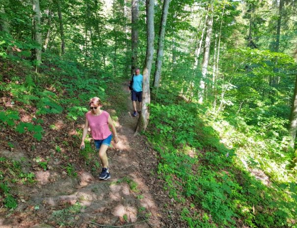 Gauja national park nature trails