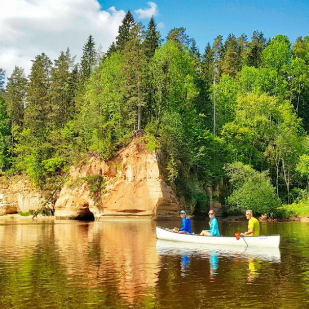 Latvia travel _ one day kayaking tour _ idaadventures