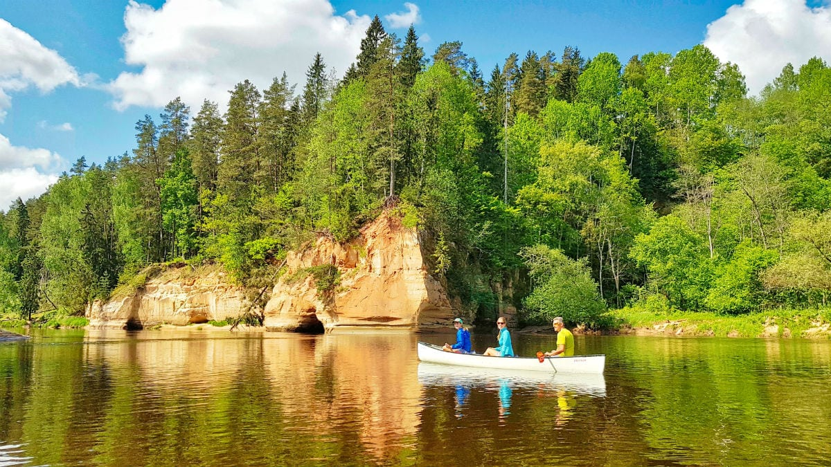Latvia travel _ one day kayaking tour _ idaadventures