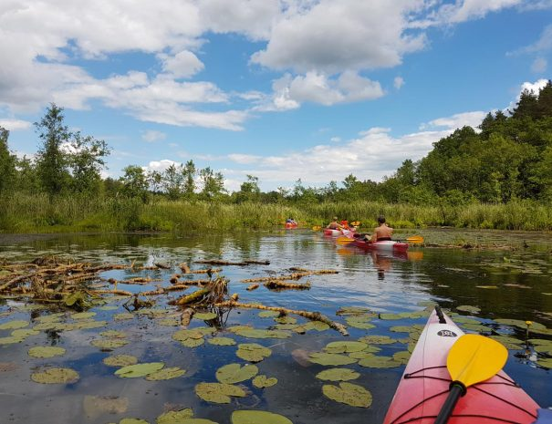 Kayaking Latvia idaadventuress