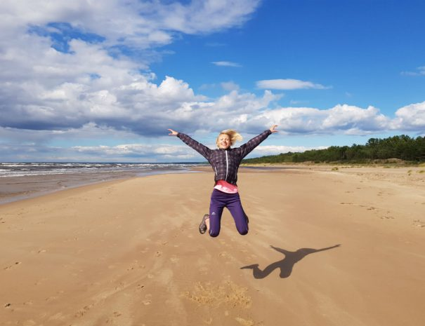 Latvia travel Piejura hiking idaadventures