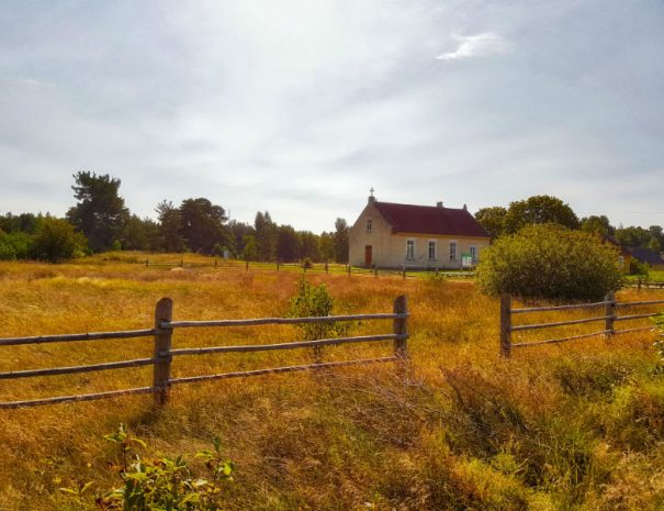 A church in plienciems SNP _Escaperies