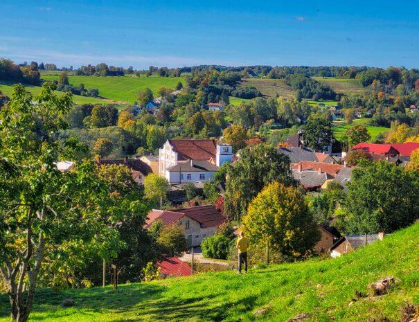 View form Sabile Vine Hill